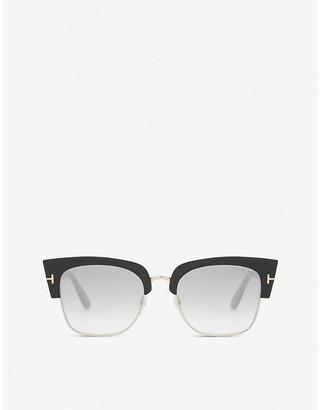 Tom Ford Dakota half-frame sunglasses