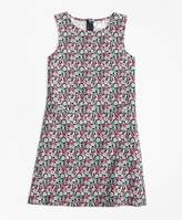 Brooks Brothers Cactus Flower Print Dress