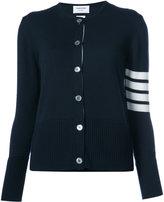 Thom Browne 2-In-1 Twin Set In Navy Fine Merino Wool