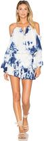 Blue Life Open Shoulder Dress