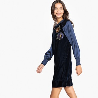 La Redoute Collections Sequined Shift Dress