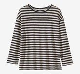 Toast Stripe Linen Easy Tee