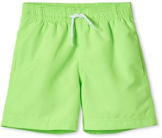 Stella Cove Boy's Neon Swim Trunks, Size 2-10