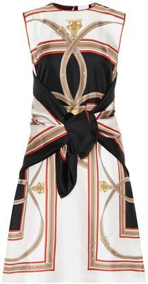 Burberry Archive Scarf silk minidress