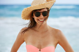 aerie Keyhole Round Sunglasses