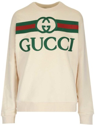 Gucci Logo Embroidered Sweater