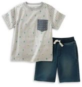 Kids Headquarters Pocket Tee and Shorts Set