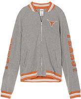 PINK University Of Texas Varsity Bomber Jacket