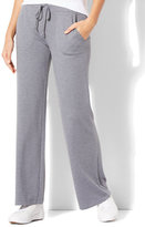 New York & Co. Wide-Leg Drawstring Pant - Grey