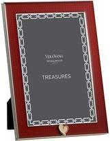 Vera Wang Wedgwood With Love Treasures Red Heart Photo Frame, 4x6