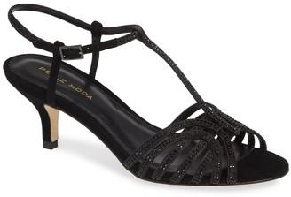 Pelle Moda Ilane Embellished Kitten Heel Sandal