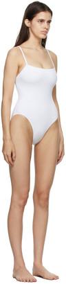 Eres White Aquarelle One-Piece Swimsuit