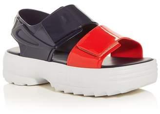 Melissa x FILA Women's Slingback Platform Sandals