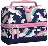 Pottery Barn Kids Mackenzie Navy Rainbow Unicorn Backpacks
