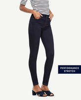 Ann Taylor Petite Curvy All Day Skinny Jeans in Evening Sea Wash