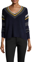 Shae Women's Knit Wool V-Neck Sweater