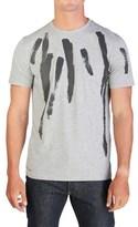 Balenciaga Men's Paint Stroke T-shirt Grey.