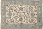 "Ecarpetgallery 6'x8'8"" Royal Oushak Rug - Cream/Blue"