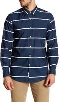 Dockers Slim Fit Stripe Woven Long Sleeve Shirt