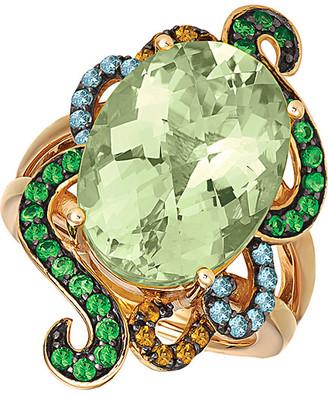 LeVian Le Vian 14K Rose Gold 10.54 Ct. Tw. Gemstone Ring