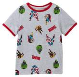 Mighty Fine Marvel Icon Toss Tee (Toddler & Little Boys)