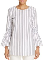 MICHAEL Michael Kors Bengal Bell Sleeve Stripe Tunic - 100% Exclusive