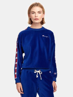 Champion Reverse Weave Rib Panel Crewneck Sweatshirt