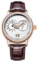 Dreyfuss & Co Men's Brown Leather Strap Watch