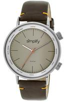 Simplify Unisex The 3300 Quartz Watch