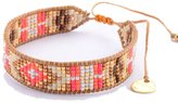 Mishky Beaded Single Wrap Adjustable-Size Bracelet
