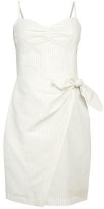 Rebecca Taylor Sleeveless Striped Dress