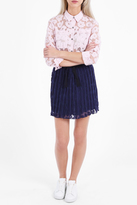 Paul & Joe Sister Karlie Daisy Print Pleated Skirt