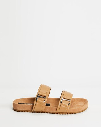 Senso Women's Brown Flat Sandals - Dahlia - Size One Size, 39 at The Iconic