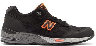 New Balance Made In England 991 Leather Trainers - Black Multi