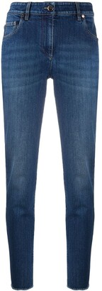 Brunello Cucinelli High-Rise Slim-Fit Jeans