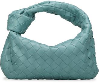 Bottega Veneta The Jodi Mini Intrecciato Knot Hobo Bag