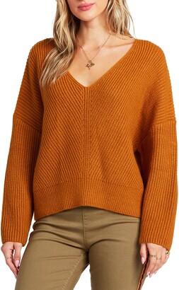 Billabong It's Me V-Neck Sweater