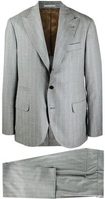 Brunello Cucinelli Striped Two-Piece Suit