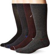 Nautica Men's 4 Pack Casual Crew Sock