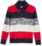 Tommy Hilfiger Ron Shawl-Collar Sweater, Little Boys (2-7)
