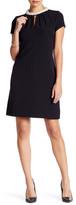 Donna Ricco Embellished Collar Dress