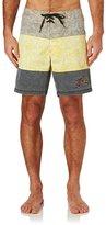 Rusty Splatter Block Board Shorts