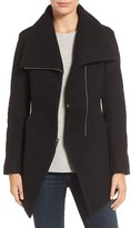 Dex Women's Cutaway Wool Blend Coat