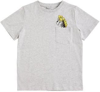 Stella McCartney Kids Printed Organic Cotton Jersey T-shirt