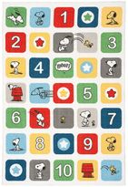 Peanuts Kids Fun Numbers Rug