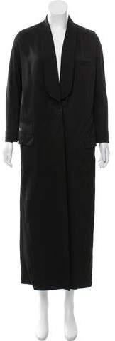Givenchy Long Cutout Coat