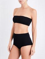 Marysia Swim Ladies Black Retro Lahaina Bandeau Bikini Top