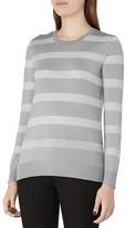 Reiss Githa Metallic Stripe Sweater