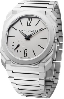 Bvlgari Titanium Octo Finissimo Watch 40mm