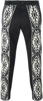 Ports 1961 baja pattern trousers - men - Cotton/Spandex/Elastane - 46